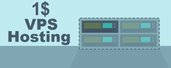 one dollar vps hosting for you