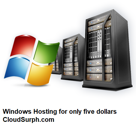 Windows Hosting for only five dollars