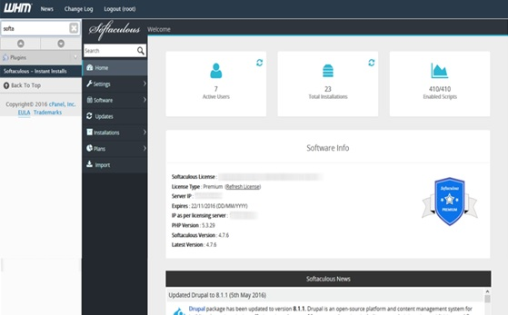 softaculous cpanel - Softaculous VPS - How to Install Softaculous on a VPS/Dedicated server?
