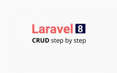 Laravel 8 crud step by step