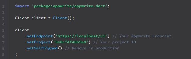 set project app writer